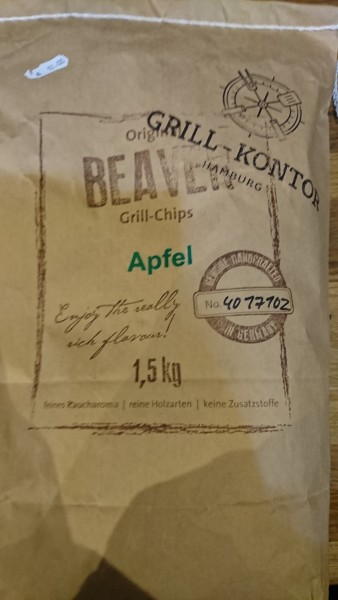 Beaver Grill Chips, Apfel