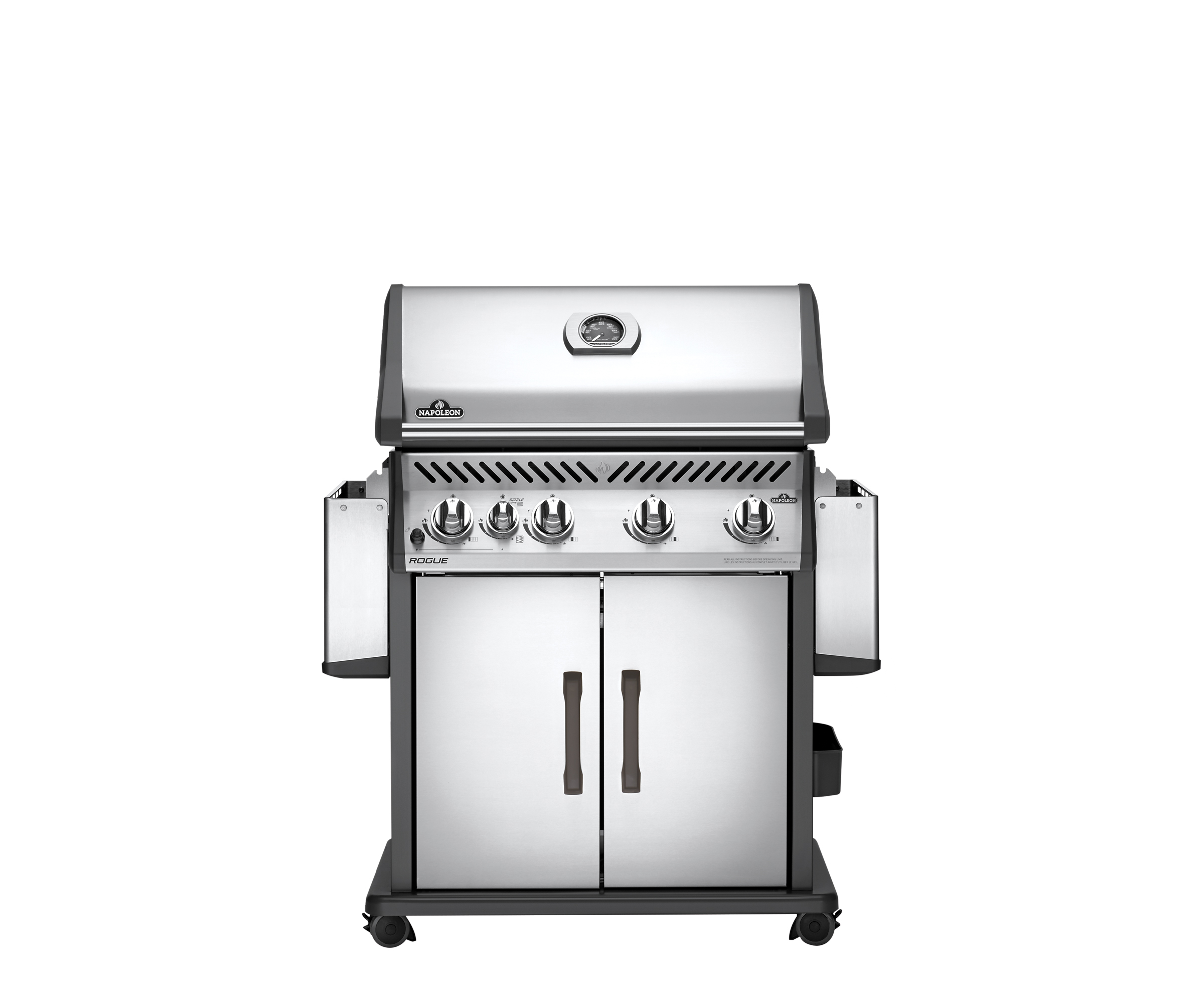 Napoleon Charcoal Professional Edelstahl Holzkohlegrill Pro605css : Napoleon rouge r525 3 « grill kontor hamburg