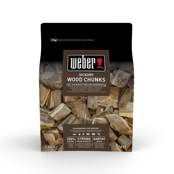 Weber Wood Chunks Hickory - 1,5kg