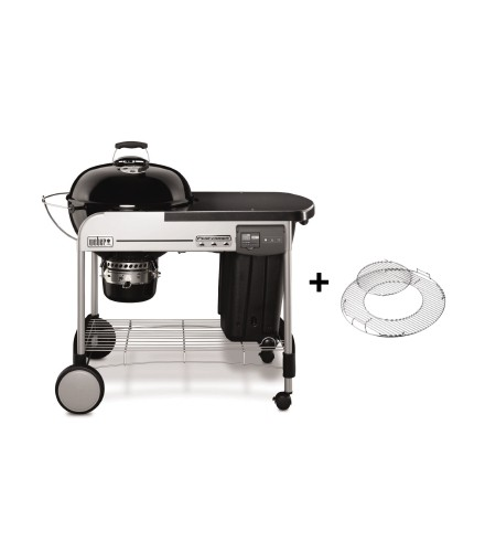 Weber Holzkohlegrill Performer® Deluxe GBS®, 57 cm, Black-Copy
