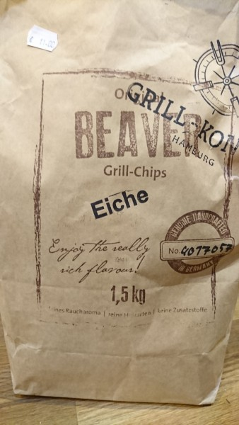Beaver Grill Chips, Eiche